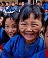 Smiling Bhutanese school children.jpg