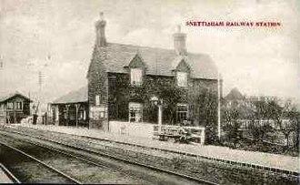 Snettisham railway station - Image: Snettisham Railway Station