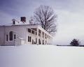 Snowy day at George Washington's Mount Vernon in Virginia LCCN2011631527.tif