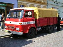 Avia A20 firetruck