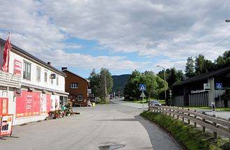 Soknedal - View of the village