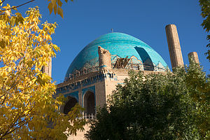 Dome of Soltaniyeh - Soltanieh Dom fall 2014