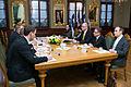Somijas parlamenta priekšsēdētājs tiekas ar Latvijas Valsts prezidentu Andri Bērziņu (8392144406).jpg