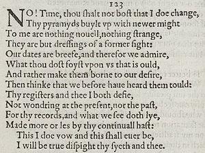 Sonnet 123 - Image: Sonnet 123 1609