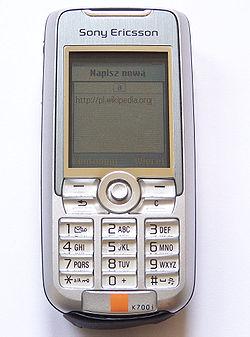 Sony Ericsson K700 – Wikipedie