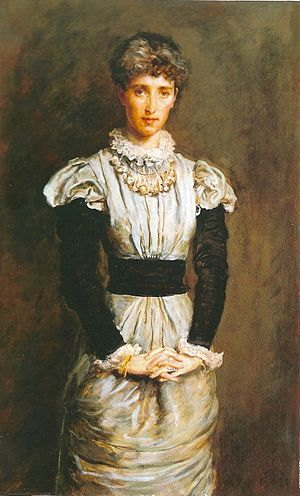 Sophy Gray (Pre-Raphaelite muse) - Millais' 1880 portrait of Sophy
