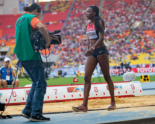 Sosthene Moguenara (2013 World Championships in Athletics) 02.jpg