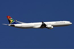 South African Airways Airbus A340-600 Monty.jpg
