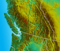 South BC-NW USA-relief BendorRange2.png