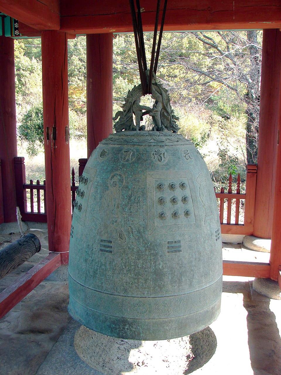 South Korea-Goheunggun-Neunggasa 5836-07 bronze bell