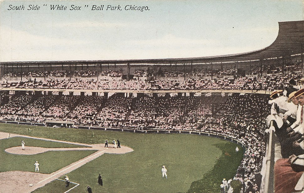 South Side Park, home of the White Sox, Chicago, Illinois, circa 1907-1913
