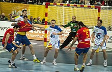 Spain vs Slovenia at 2013 World Handball Championship (9).jpg