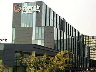 L'Hospitalet de Llobregat - Spanair head office in L'Hospitalet de Llobregat