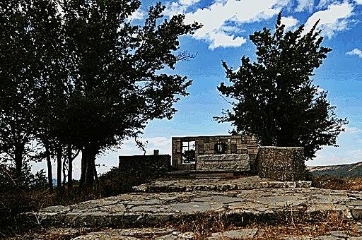 Spazzavento, tomba di Curzio Malaparte