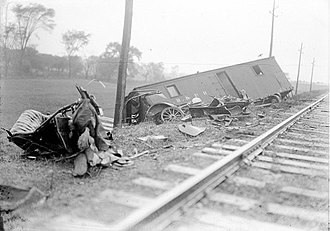 Federal Employers Liability Act - Fatal car accident in Spencerport, New York, October 20, 1917