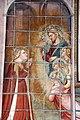 Spinello aretino, Caterina in prigione converte la regina con le dame e riceve la visita di Cristo 05.JPG