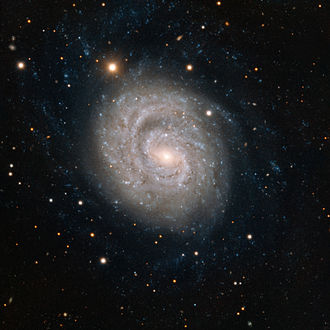 NGC 1637 - This image from ESO's Very Large Telescope at the Paranal Observatory in Chile shows NGC 1637