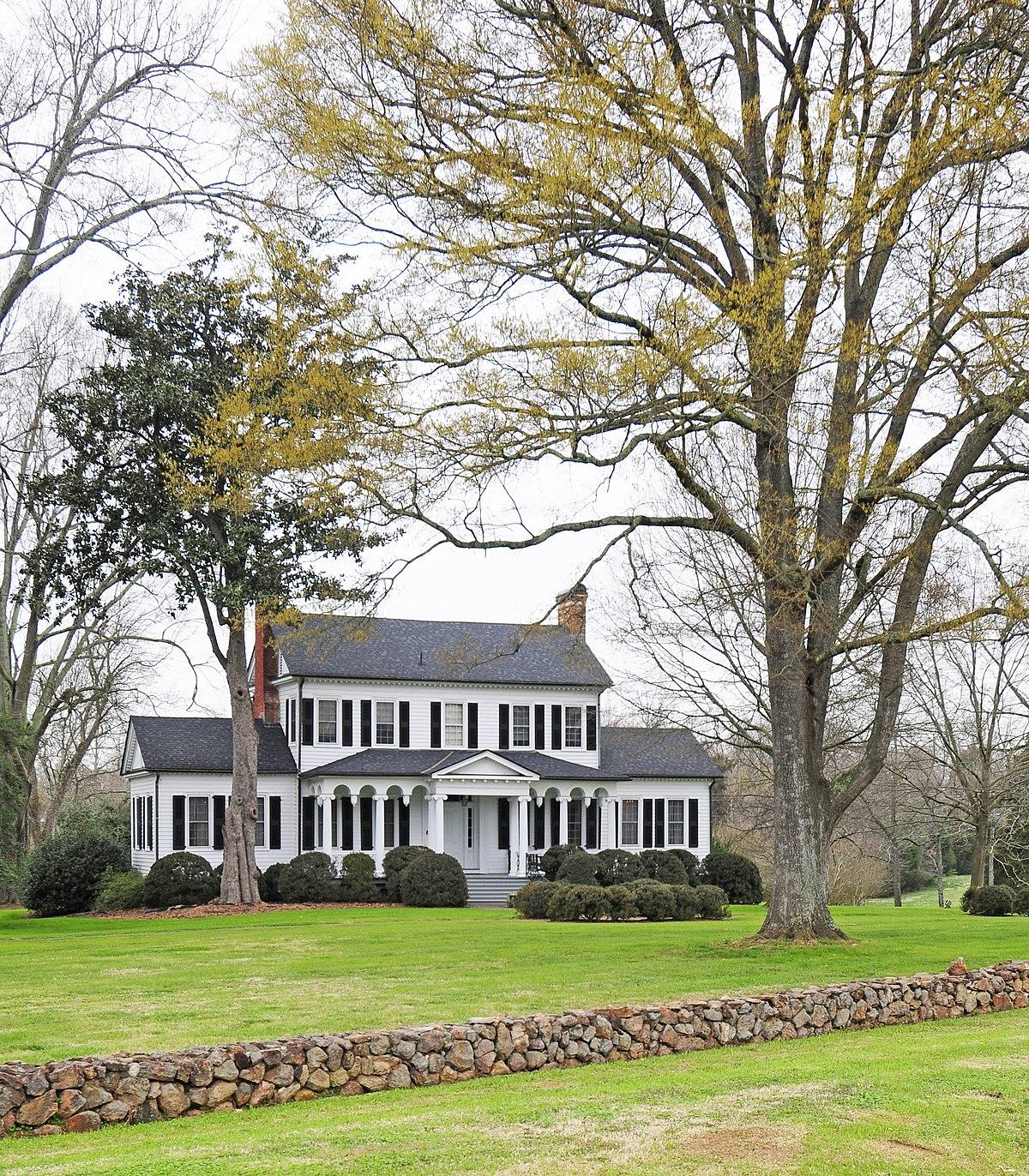 Springfield Plantation House Fort Mill South Carolina