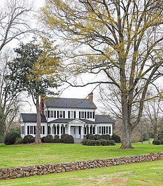 Springfield Plantation House (Fort Mill, South Carolina) - Image: Springfield Plantation House