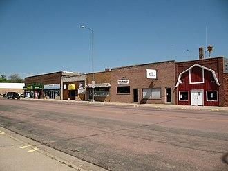 Springfield, South Dakota - Main Street of Springfield.