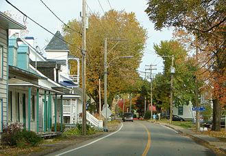Quebec Route 368 - Route 368 in the centre of Saint-Laurent