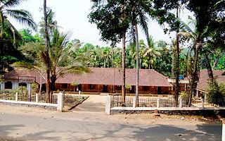 Mallikassery Village in Kerala, India