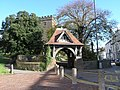 St. Elli Church and lych gate - geograph.org.uk - 267236.jpg