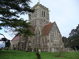 Shipbourne - Image: St. Giles' Church, Shipbourne, Kent (2)