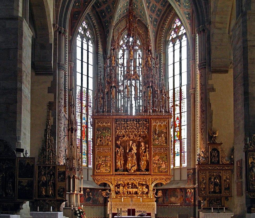 St. James, Levo%C4%8Da, Main altar, 2017 v2