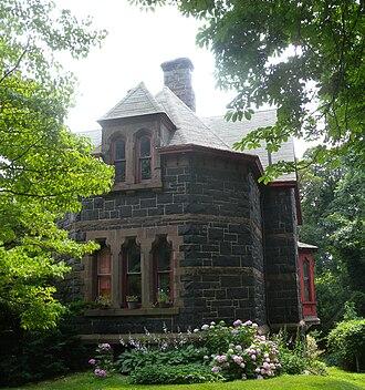 St. Paul's Memorial Church (Staten Island, New York) - Image: St. Paul's Episcopal Rectory, Stapleton jeh