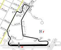 St. Petersburg Track Layout
