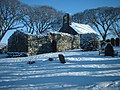 St Adamnan's Church after a snowfall - geograph.org.uk - 443627.jpg