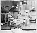 St Bartholomew's Hospital, Operating theatre with nurses. Wellcome L0014167.jpg