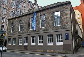 St Cecilias Hall Music museum, concert hall in Cowgate, Edinburgh