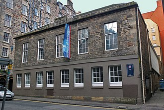 St Cecilia's Hall - Façade of St Cecilia's Hall on the Cowgate