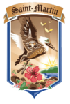 Wappen von Saint-Martin