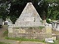 St Mary's church, Wimbledon, Pyramidal tomb - geograph.org.uk - 1941177.jpg