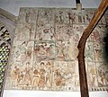 St Mary, Sporle, Norfolk - Wall painting - geograph.org.uk - 321181.jpg