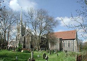 Faversham Parish Church - Image: St Mary of Charity, Faversham, Kent geograph.org.uk 325423