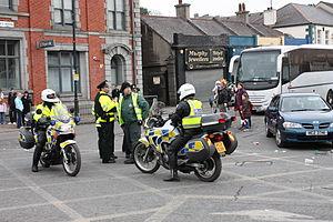 Honda Transalp - The Police of Northern Ireland on XL650V