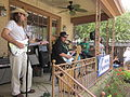St Pats Parade Day Metairie 2012 Royal Bohemians Porch 3.JPG