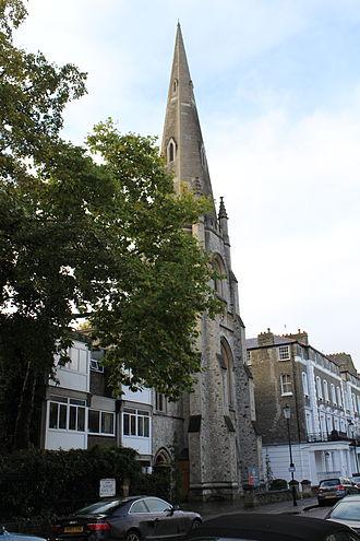 James Edmeston - Image: St Paul's, Onslow Square 01