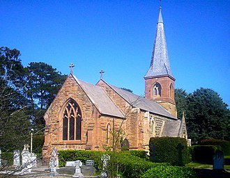 Anglican Church of Australia - St John the Baptist Church, Reid, built in the 1840s, is the oldest building within Canberra's city precinct