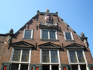 Pieter de Keyser - The Saaihal in Amsterdam, designed by Pieter de Keyser, dates from 1641