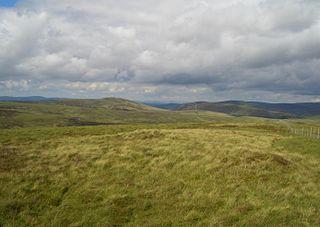 Stac Rhos mountain in United Kingdom