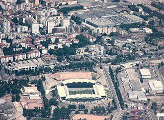 1972 Rugby League World Cup Final - Image: Stade de Gerland P1190154