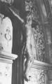 Stadtkirche Pforzheim 1899-1962, (erbaut nach Entwurf von Carl Voß 1850-1937), Kruzifix aus d. ehem. Dominikanerkloster unter der Westempore der Stadtkirche, Detail.png