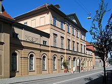 Bertuchhaus am Baumgarten, ehemals Wohn- u. Geschäftshaus von F. J. Bertuch, heute Sitz des Stadtmuseums Weimar (Quelle: Wikimedia)