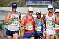 Staff Sgt. John Nunn race walks 50 kilometers at Rio Olympic Games (29017334211).jpg