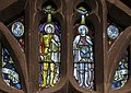 Stained glass window, St Mary's church, Westham (15792309647).jpg